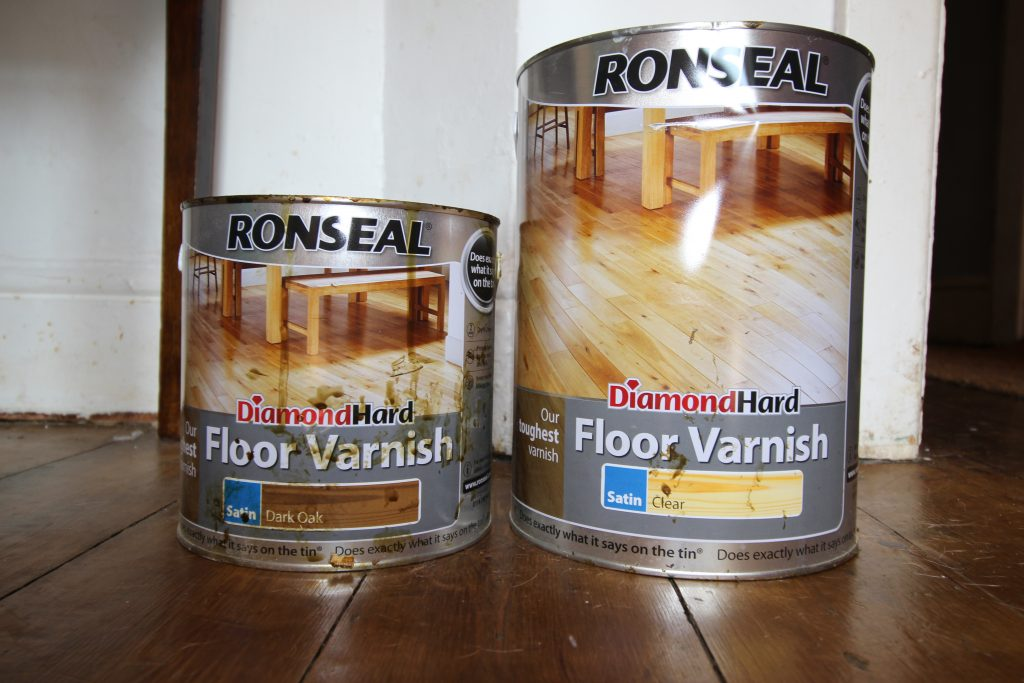 How To Paint And Varnish Wood Floors Turning A House Into A Home