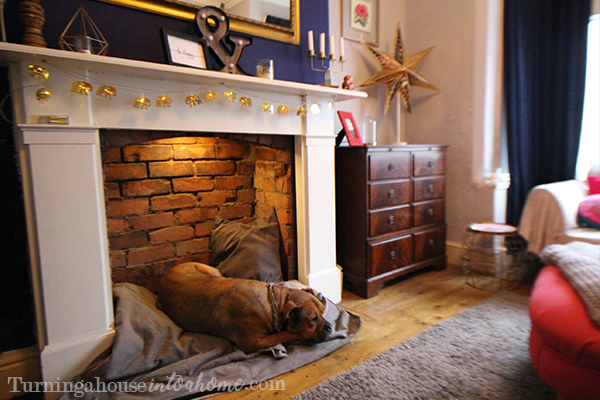 *UPDATED* How to make a dog bed in a fireplace • Turning a ...