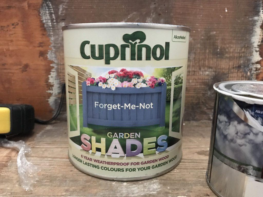 Cuprinol Wood Paint in Forget Me Not