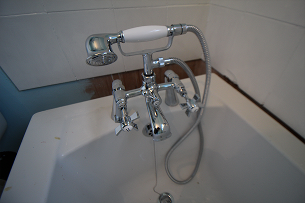 Gorgeous new bath taps