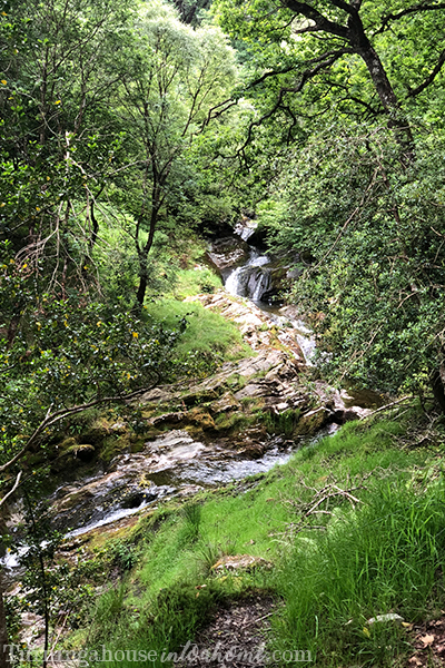 Waterfall at Glendalough